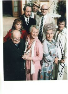 "Trevor Bannister from ""Are you being Served"" Signed 10 x 8 Photograph"